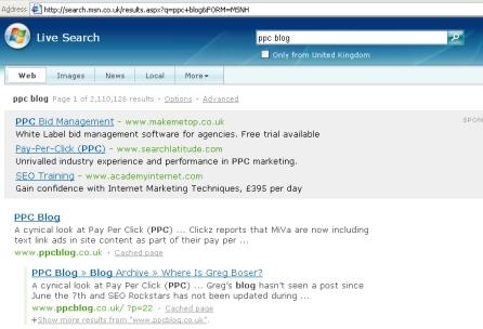 PPCBlog Live.com