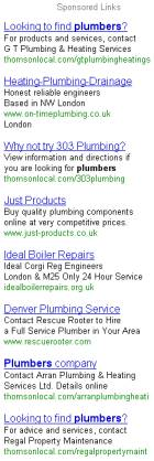 thomson plumbers search