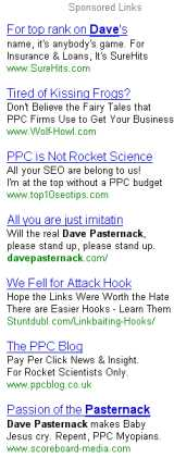 Dave pasternack ppc