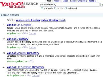 yahoo directory